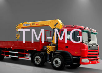 Move Effective  8 Ton Telescoping Boom Crane, Hydraulic Truck Mounted Crane for Sale