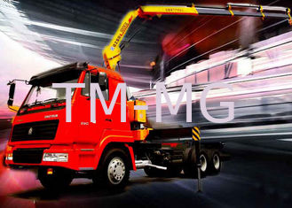 5 Ton Knuckle Boom Truck Crane , Light Truck Loader Crane Cargo use