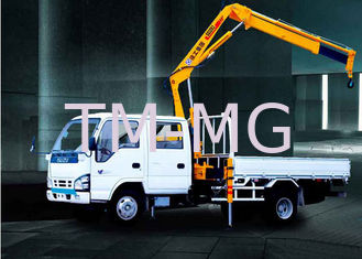 3200kg   knuckle boom crane Truck Mounted 6.72 T.M Lifting commercial