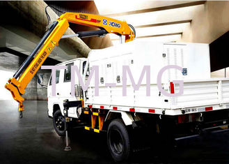 XCMG 2T Hydraulic Arm  safety construction crane, Knuckle Boom Truck Crane CE