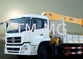 New XCMG hydralic Telescopic Boom Truck Loader Crane , 8T Truck Mounted Crane