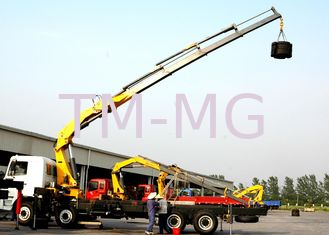High Lifting Capacity 14T Knuckle Boom Truck Mounted Crane For Transporting Heavy Things