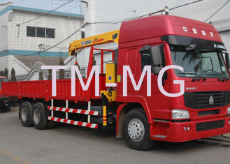 5 Ton Hydraulic Truck Loader Crane , 32 L/min 10m Max Reach with Low Price